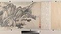 清 王翬 倣巨然燕文貴山水圖 卷-Landscape in the Style of Juran and Yan Wengui MET DP204415.jpg