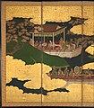 """源氏物語図屏風 (胡蝶)-""""Butterflies"""" (""""Kochō""""), Chapter 24 from The Tale of Genji (Genji monogatari) MET DP362580.jpg"""