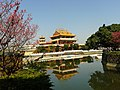 龍潭大池 南天宮 Nantian Temple on the Longtan Pond - panoramio.jpg