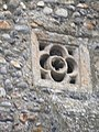 -2019-01-07 Sound hole, North elevation of bell tower, Church of Margaret's, Paston.JPG