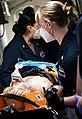 -USS Mount Whitney (LCC 20) medical evacuation drill in Gaeta, Italy, May 7, 2020- (49870147803).jpg