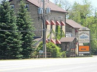 Puslinch, Ontario - Aberfoyle Mill Restaurant
