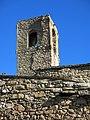 017 Campanar de Sant Urbà de Montsonís, angle sud-oest.JPG