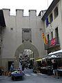 027 El Portal de Centelles, des del carrer de Jesús.JPG
