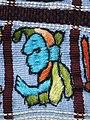 030 - Huipil Ceremonial Santiago Atitlan Detail Frontside 1989 09.JPG