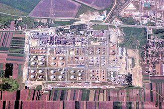 Naftna Industrija Srbije - Refinery in Pančevo