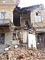 056 Tbilissi Vieille ville immeuble effondré à la suite d'un tremblement de terre.JPG