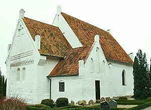 Gloslunde Church - Gloslunde Church, Lolland