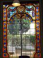 074 Casa Orlandai, vitrall modernista.JPG