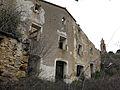 084 Caseriu abandonat de Marmellar, al fons Sant Miquel.JPG