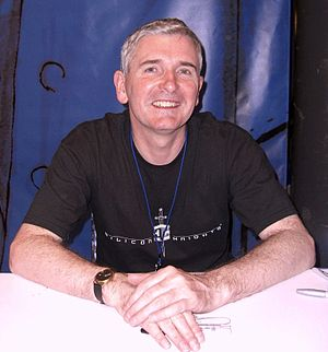 Mike Carey (writer) - Carey at the New York Comic Con in Manhattan, 10 October 2010.
