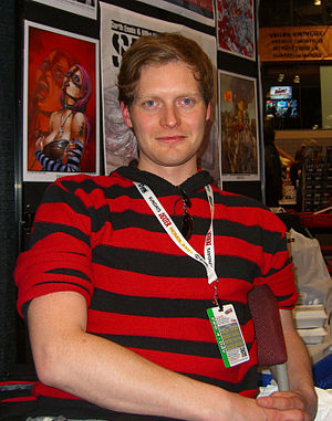 Simon Spurrier - Spurrier at the 2012 New York Comic Con