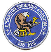 108th Expeditionary Air Refueling Squadron - OEF Emblem