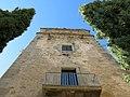 114 Sant Jeroni de la Murtra, torre prioral, façana est.JPG