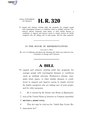 116th United States Congress H. R. 0000320 (1st session) - Adult Day Center Enhancement Act.pdf