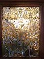 118 Mtskhéta cathédrale Légende de la colonne vivante de sainte Ninon.JPG