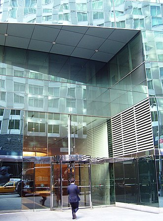 125 West 55th Street - The entrance at 120 West 56th Street