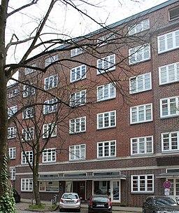 Glücksburger Straße in Hamburg