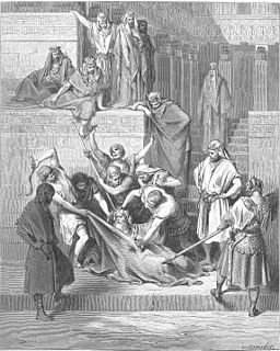 Eleazar (2 Maccabees) character from 2 Maccabees; described as a martyr