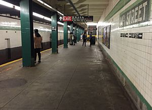 14th Street/Sixth Avenue (New York City Subway) - Southbound platform