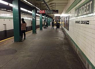 14th Street/Sixth Avenue (New York City Subway) - Southbound platform