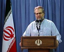 15,9,2009 Nader Talibzadeh (Nader Taleb-Zadeh) Meeting with Iran's supreme leader Grand Ayatollah Ali Khamenei as Artist active in the art of Holy defense.jpg