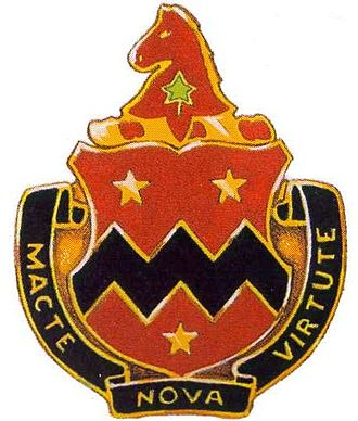 2nd Cavalry Division (United States) - Image: 16 FA Rgt DUI