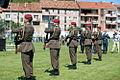 16 obljetnica vojnoredarstvene operacije Oluja 05082011 Pocasno zastitna bojna pocasno ceremonijalni program 375.jpg