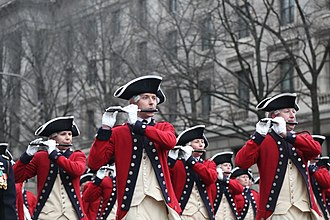 Fife and drum corps - The Old Guard Fife and Drum Corps.