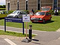 179 - 1979 pre-production red Austin Metro and other Metros (2).jpg