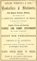 1857 Whipple EssexSt SalemDirectory Massachusetts.png