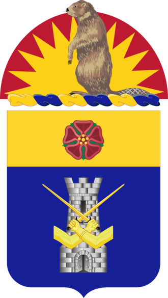 186th Infantry Regiment (United States) - Coat of arms