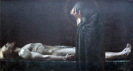 1891 von Stuck Pietà anagoria