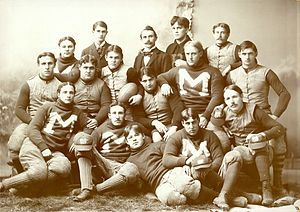 1894 Michigan Wolverines football team - Image: 1894 Michigan Wolverines football team