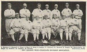 New Orleans Pelicans (baseball) - Image: 1910NOLAPelicans