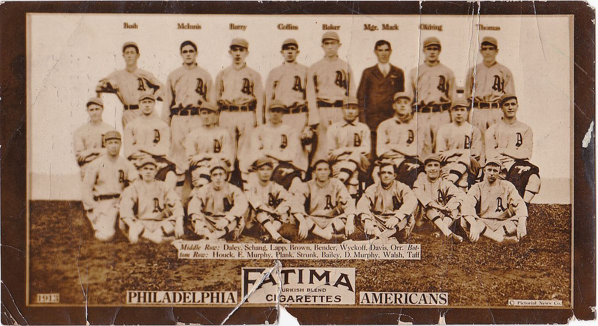 d2f89043f2e 1913 Philadelphia Athletics season - Wikipedia