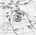 1919 Florida Keys hurricane analysis 10 sept 1919.jpg