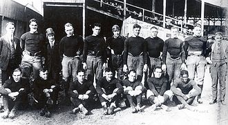1920 Akron Pros season - The 1920 Akron Pros after a game