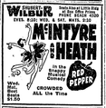 1922 Shubert Wilbur theatre BostonGlobe January23.png