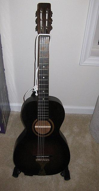 Oscar Schmidt Inc. - Image: 1930s Stella Parlor Guitar