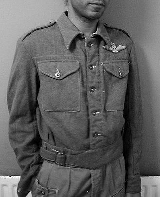 British Battledress - Image: 1940 Pattern Battle Dress Blouse