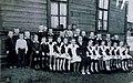 1957 год. Первый класс ж. д. школы. Руководитель Ивакина Евдокия Петровна. - panoramio.jpg