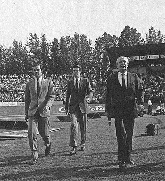 Massimo Moratti - Gian Marco, Massimo and Angelo Moratti in 1967