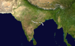 1970 Indian cyclone 7 track.png