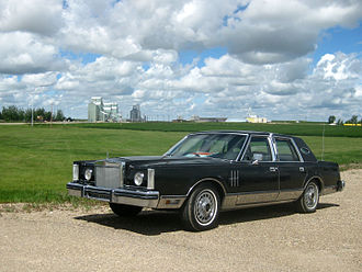 Lincoln Continental Mark VI - Continental Mark VI with optional touring lights