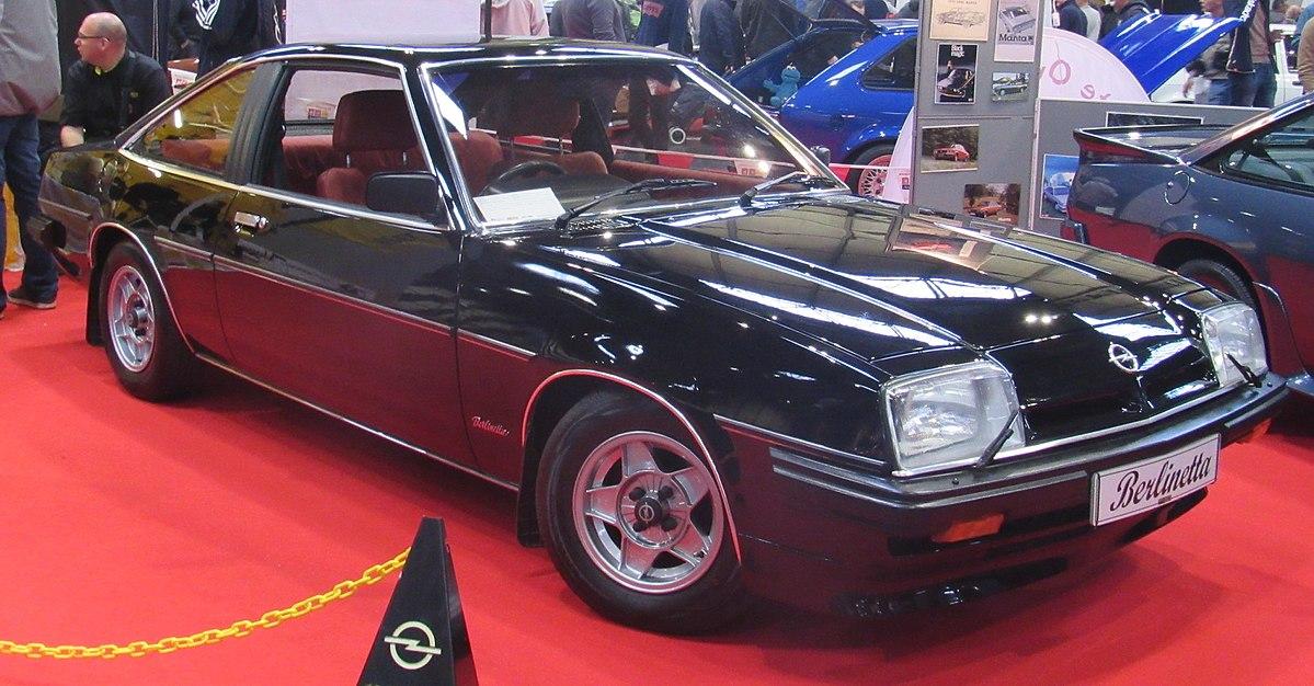 Opel Manta Wikip 233 Dia A Enciclop 233 Dia Livre