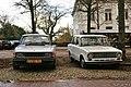 1986 Saab 90 & 1979 Lada 1300 L (11712470795).jpg