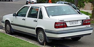 Volvo 850 - Image: 1994 1997 Volvo 850 SE 2.5 sedan (2011 01 13) 02