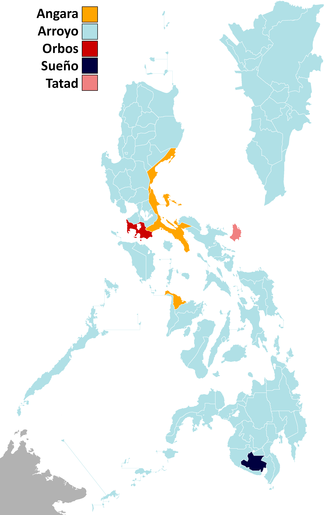 Philippine general election, 1998 - Vice presidential election per province/city.