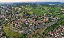Panorama of the Cité de Carcassonne